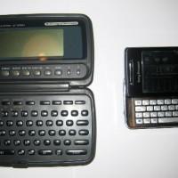 Casio SF-8350 vs Sony Ericsson Xperia Smartphone